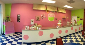 We are located inside of HANDEL'S ICE CREAM!!!